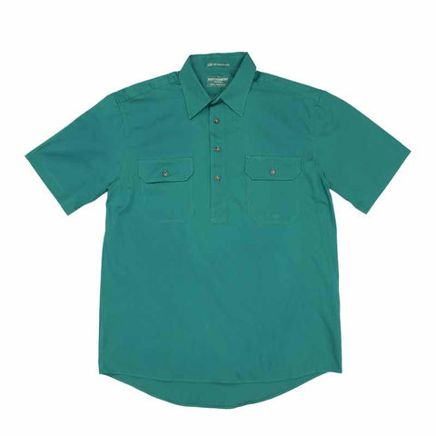 JCA Adam Mens Workshirt Dark Green
