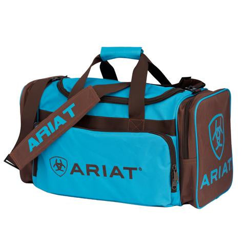Ariat Junior Gear Bag Turquoise & Brown