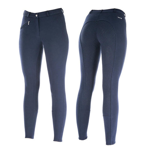 Horze Active Silicone Breeches Navy