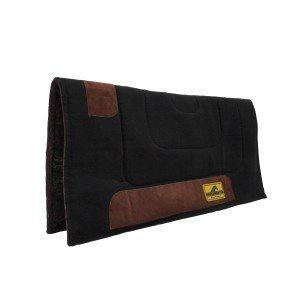 Horse Master Felt Lined Canvas Pad Black