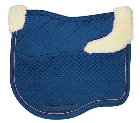 Estate Fleece Dressage Saddlecloth Petrol