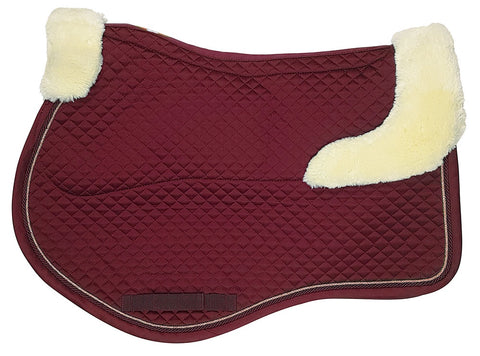 Estate Fleece Jump Saddlecloth Claret