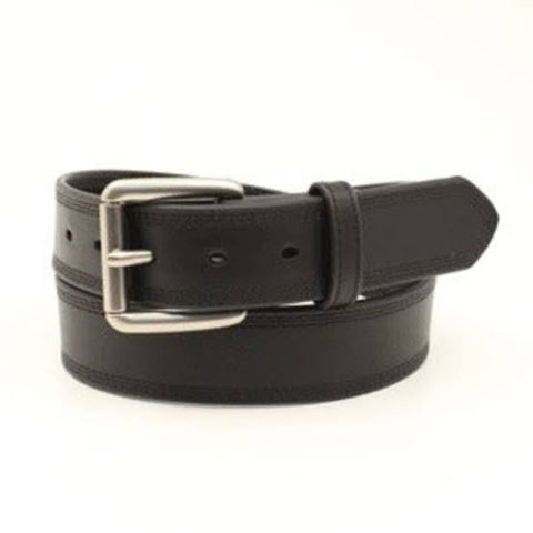 Ariat Unisex Belt Black Triple Stitch A1034801