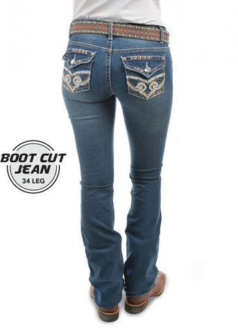 Pure Western Brandy Bootcut Womens Jeans