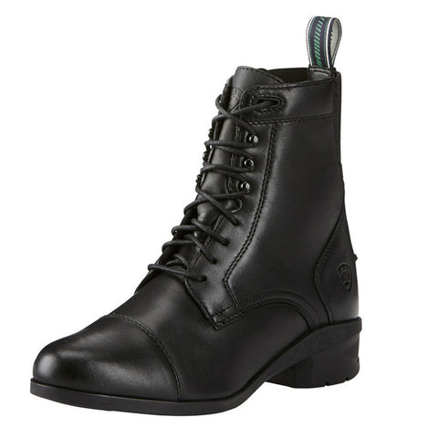 Ariat Heritage lace up riding boots black