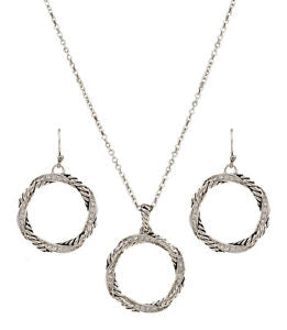 Montana Twisted Coil Jewellery Set
