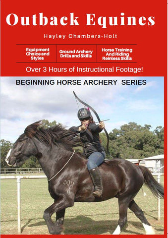 Outback Equines Beginning Horse Archery