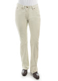 Thomas Cook Stretch Ladies Moleskin Jeans Stone