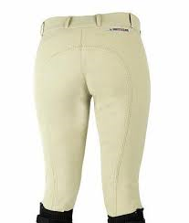 Horze Grand Prix Ladies Breeches Cream