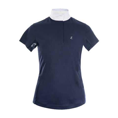 Horze Blaire Ladies Shirt Navy