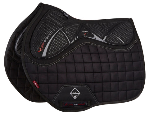 LeMieux X Grip Twin Side Jump Pad Black