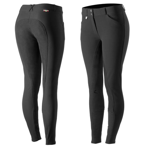 Horze Grand Prix Ladies  Breeches Black