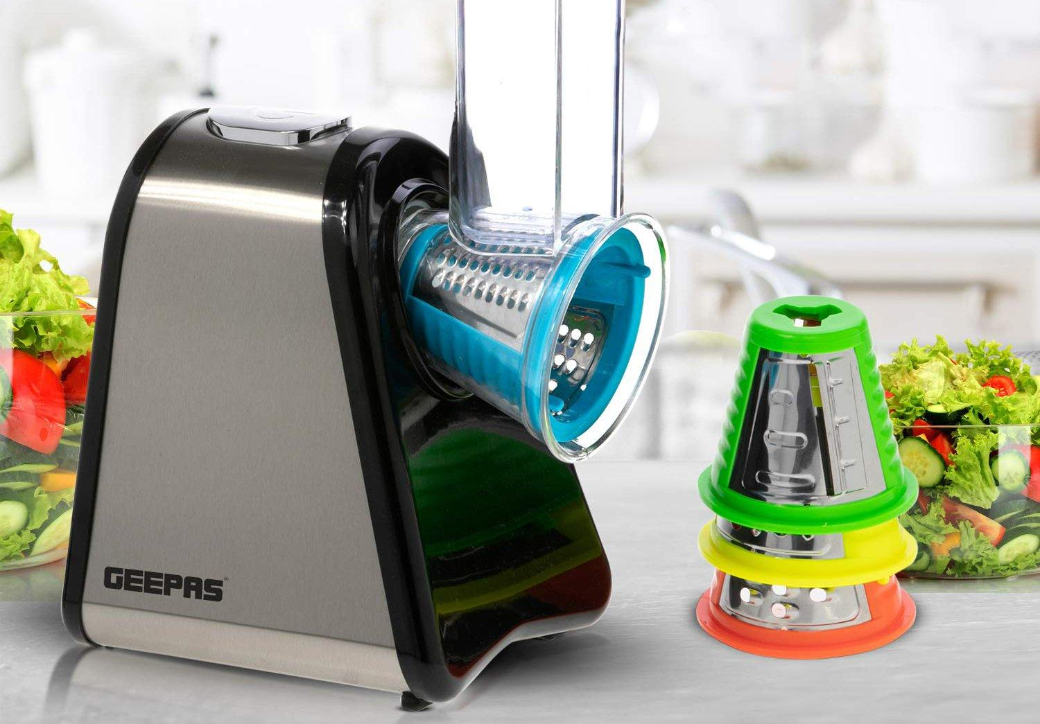 The Best Vegetable Spiralizer for Salads: The Geepas Formula