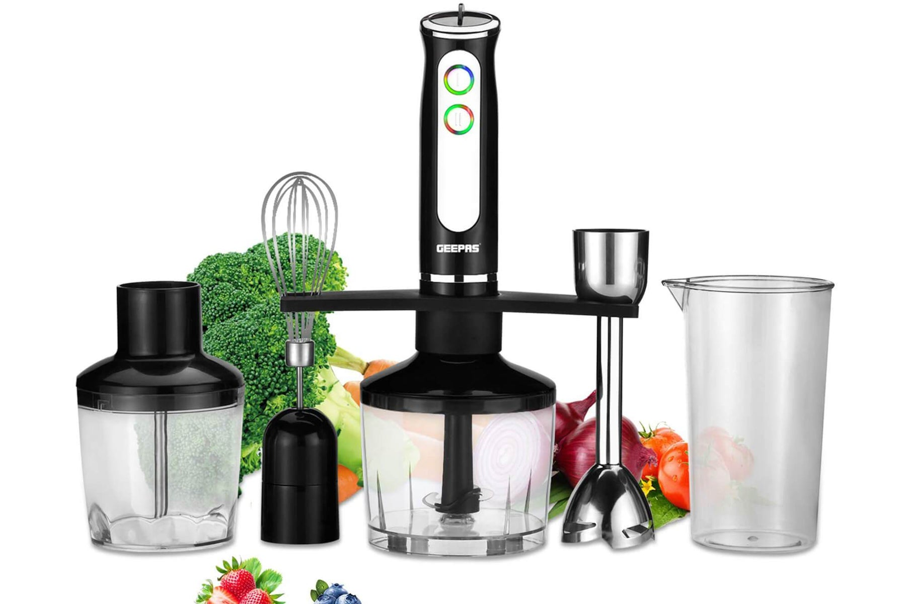 The Best Hand Blender for Versatility: The Geepas Formula