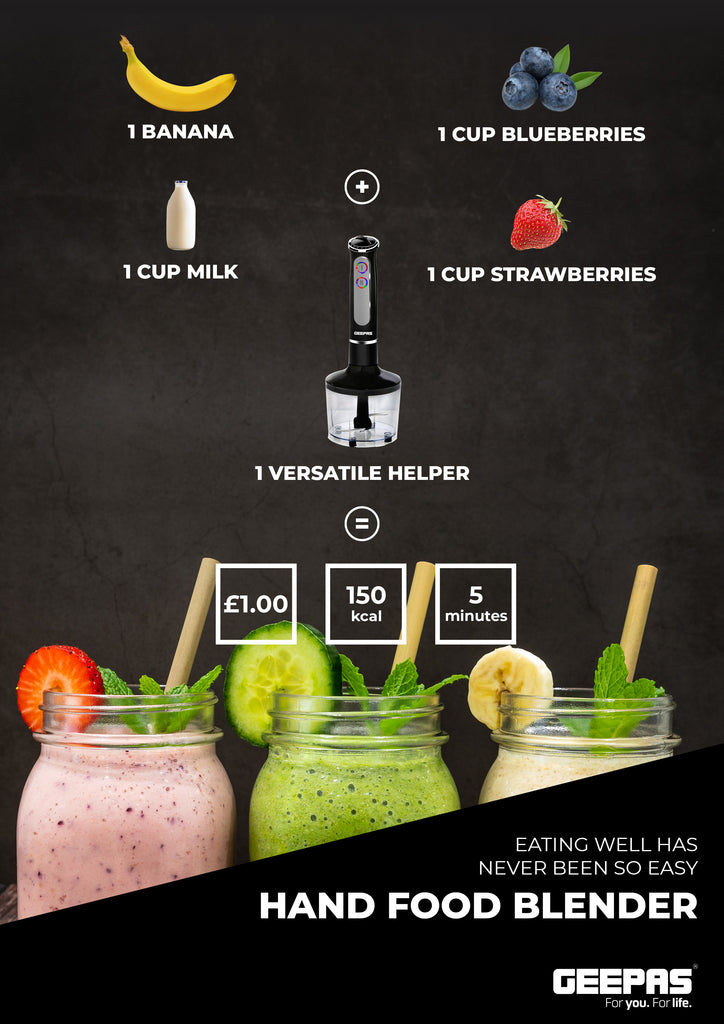 Smoothie recipe - Geepas formula