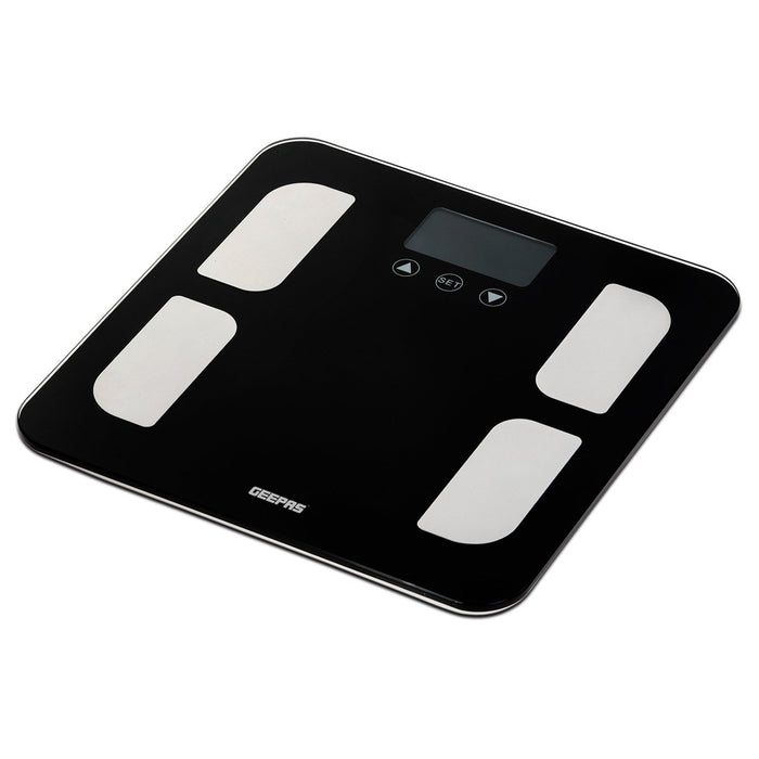 Digital Bathroom Scales |150Kg Capacity |6mm Tempered Glass Geepas | For you. For life.