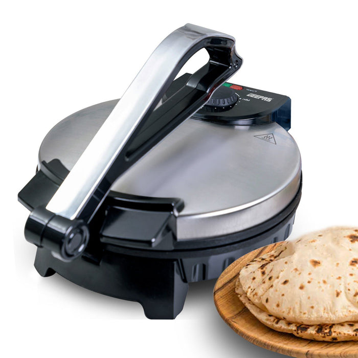 "10"" Non Stick Chapati / Roti Maker Toastie Maker Geepas 