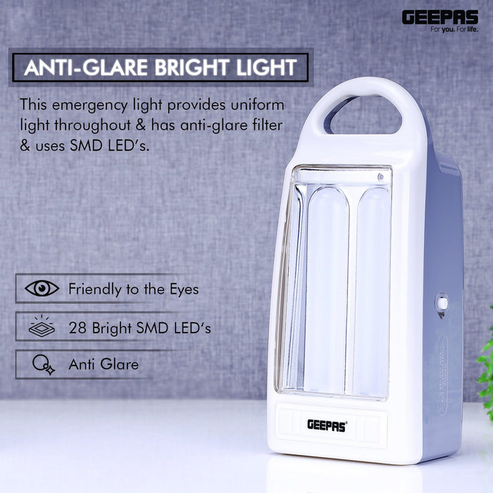 Rechargeable LED Lantern Lighting Geepas | For you. For life.