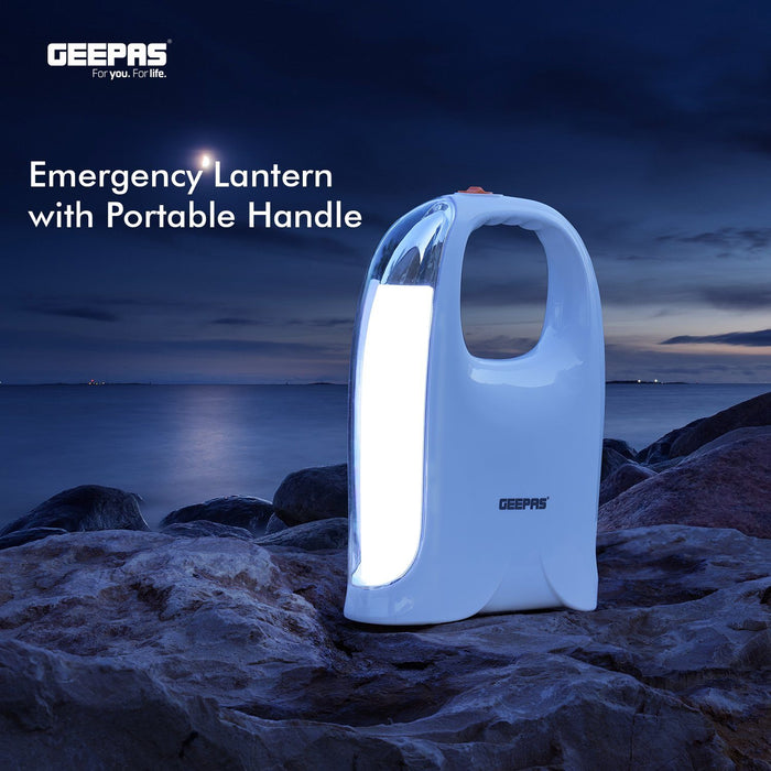 Rechargeable LED Emergency Lantern Lighting Geepas | For you. For life.