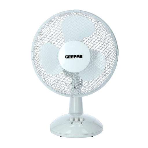 "9"" Electric Portable Desktop Fan Fan Geepas 
