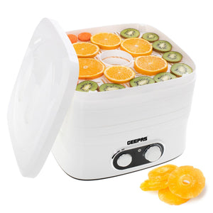 Digital Food Dehydrator | 240W Geepas | For you. For life.