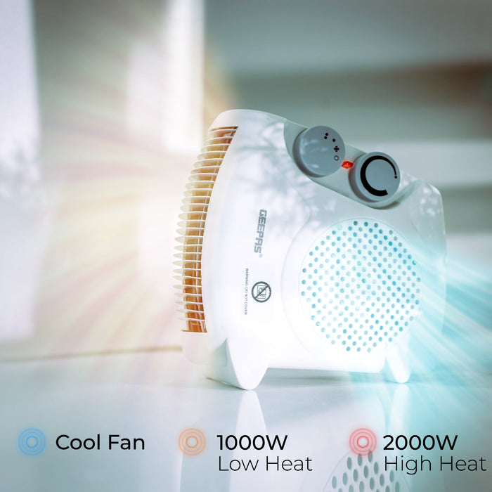 Portable Fan Heater Heaters Geepas | For you. For life.