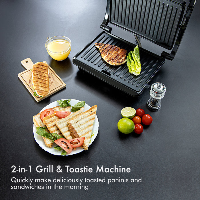 1000W Panini Grill Maker Sandwich Maker Geepas | For you. For life.