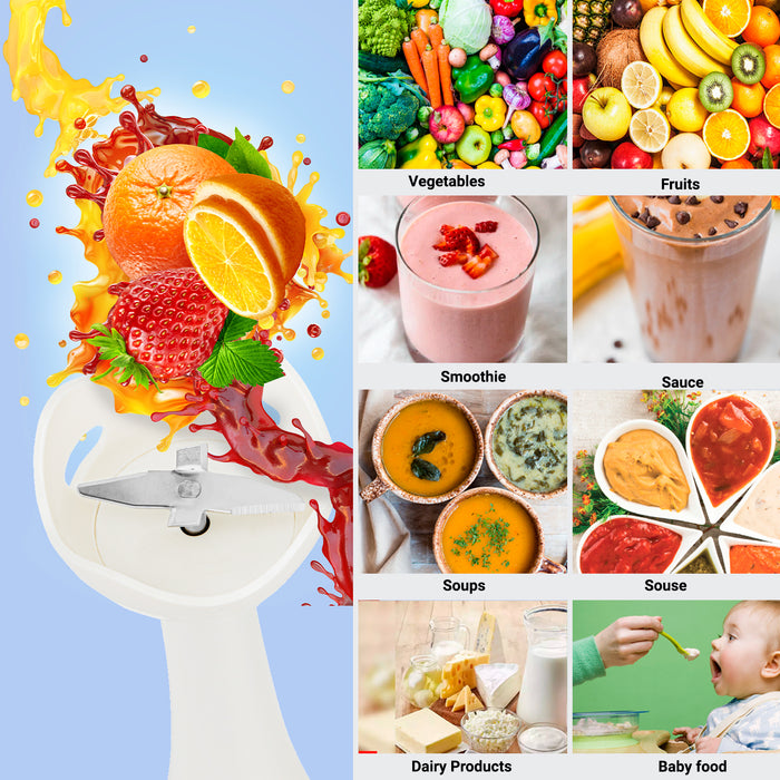 Hand Blender & Hand Mixer Combo Processor Geepas | For you. For life.