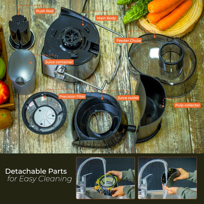 600W Juice Extractor Centrifugal Juicer Juicer Geepas | For you. For life.