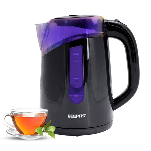 1.7L Cordless Electric Kettle Kettle Geepas | For you. For life.