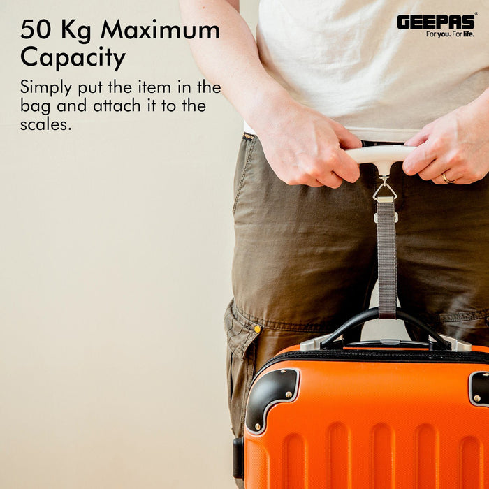 Digital Luggage Scales Luggage Scales Geepas | For you. For life.
