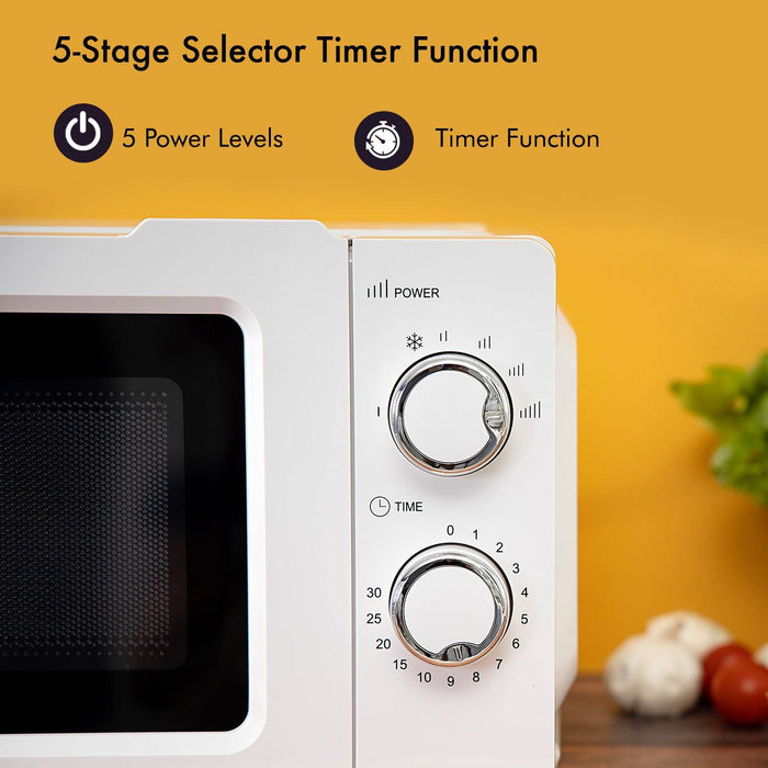 20L Manual Microwave Oven Oven Geepas | For you. For life.