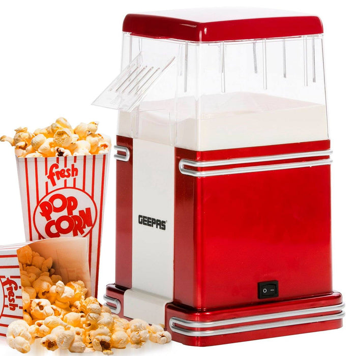 1200W Electric Popcorn Maker Machine Popcorn Maker Geepas | For you. For life.
