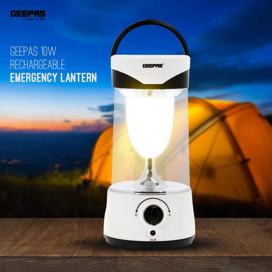 10W Rechargeable Emergency Lantern |Power Outages, and Camping