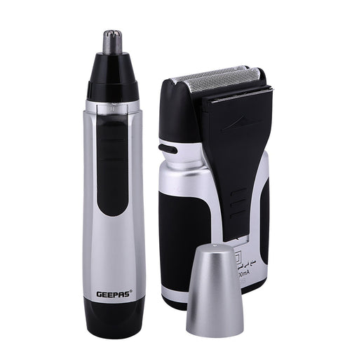 2-in-1 Men's Shaver and Nose Trimmer Shaver Geepas | For you. For life.