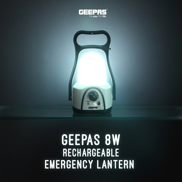 Portable LED Camping Lantern Lighting Geepas | For you. For life.