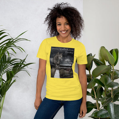 I think we're still in Kansas – Bella + Canvas 3001 Unisex Short Sleeve Jersey T-Shirt with Tear Away Label