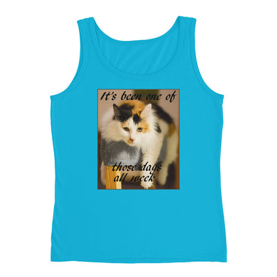 One of those days – Anvil 882L Ladies Missy Fit Ringspun Tank Top with Tear Away Label