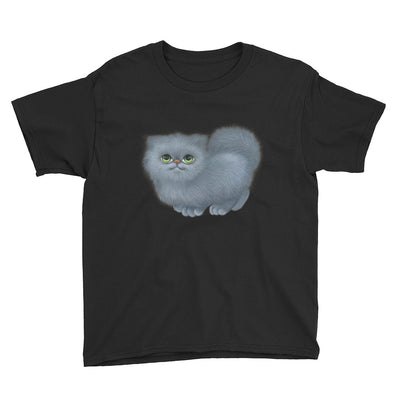 Gray Kitten – Anvil 990B Youth Lightweight Fashion T-Shirt with Tear Away Label
