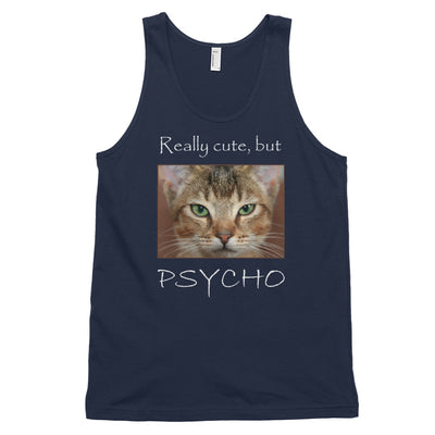 Really cute, but Psycho – American Apparel 2408 Fine Jersey Tank Top Unisex