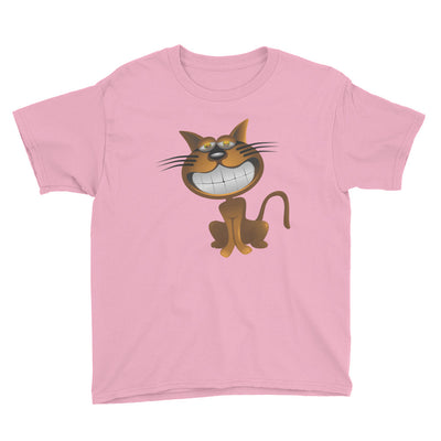 Bronze cat – Anvil 990B Youth Lightweight Fashion T-Shirt with Tear Away Label