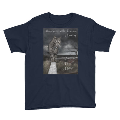 I think we're still in Kansas – Anvil 990B Youth Lightweight Fashion T-Shirt with Tear Away Label