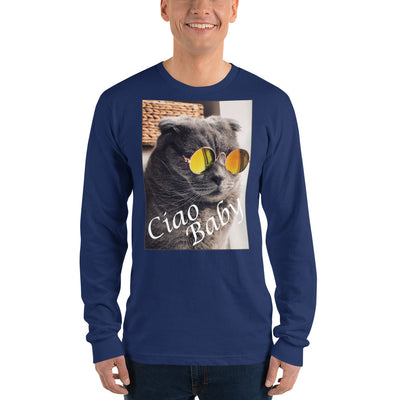 Ciao Baby – American Apparel 2007 Unisex Fine Jersey Long Sleeve T-Shirt