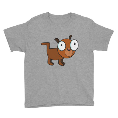 Brown dog – Anvil 990B Youth Lightweight Fashion T-Shirt with Tear Away Label