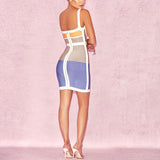 Angela L'Amour Silhouette Bandage Dress - Makeart Official