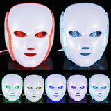 ByBronx LED Facial Mask Skin Rejuvenation Therapy Device - Makeart Official