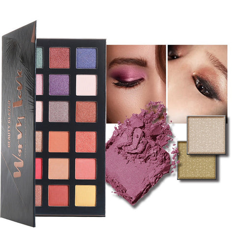 Beauty Glazed Desert Dusk Warm Eyeshadow Palette - Makeart Official