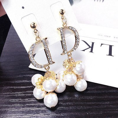 Fawz D&D Pearls Earrings