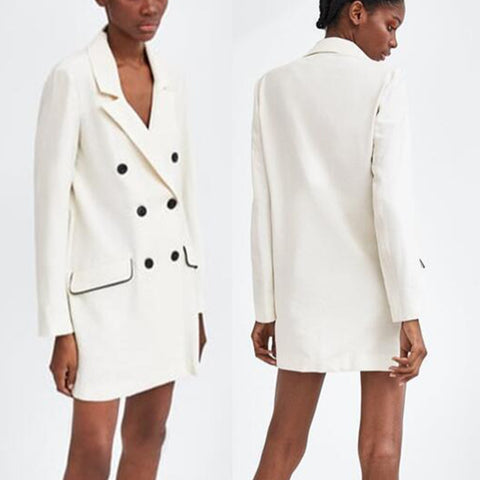 Ruby Fararrel Oversized Blazer Dress - Makeart Official
