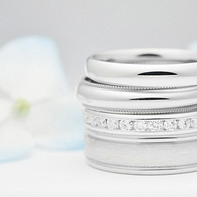 Platinum wedding bands sale